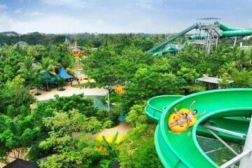 مدينة الألعاب المائية وتربوم Waterbom Jakarta