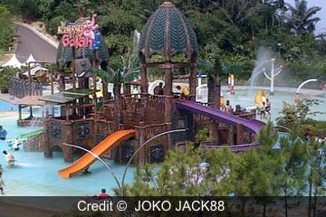 منتزة كامبونج جاجاه - Kampung Gajah Wonderland