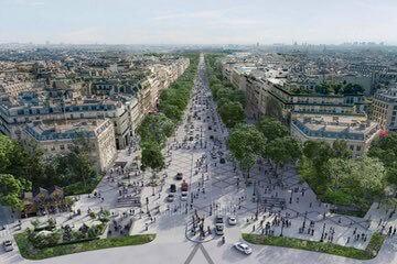 شارع الشانزليزيه  Champs-Élysées