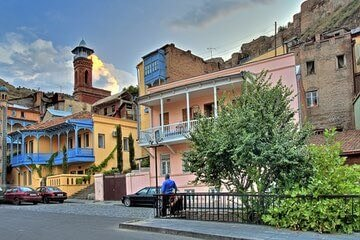 المدينة القديمة في تبليسي Old Town Dzveli