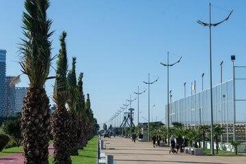 ممشى باتومي بوليفارد Batumi Boulevard